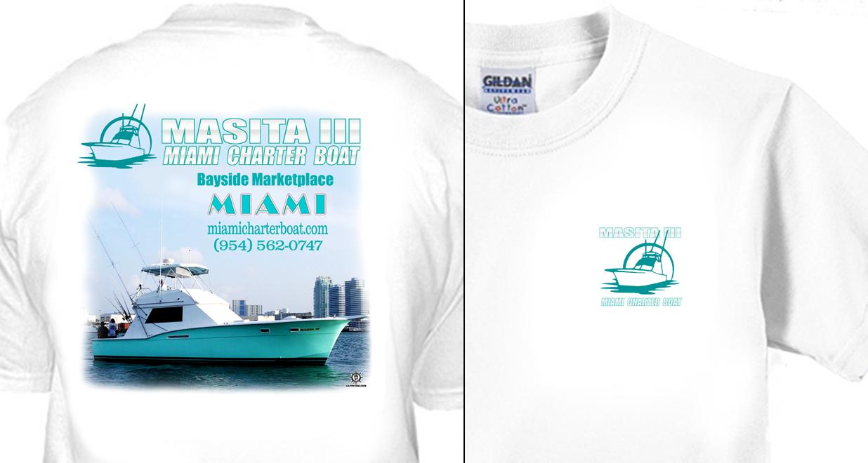 Masita Miami Charter Boat