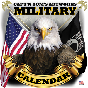 Capt'n Tom's Artworks Military Calendar