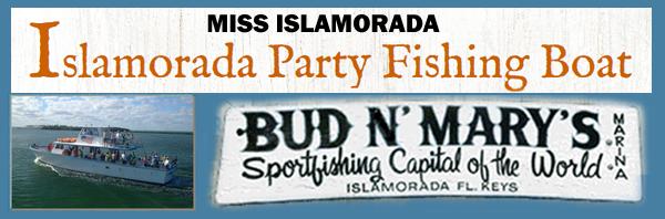 Miss Islamorada Party Fishing Boat
