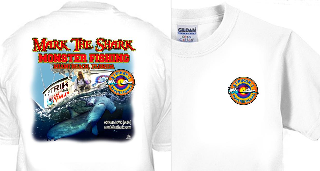 Mark the Shark - Hammerhead On Transom