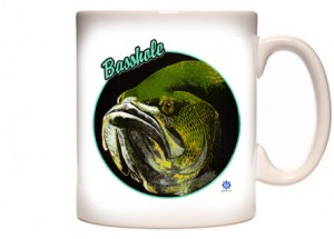 largemouth bass mug