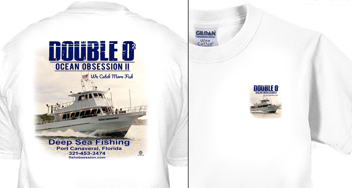 Ocean Obsession Party Fishing Boat