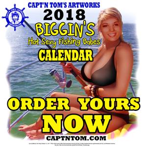 Capt'n Tom's Biggin's 2018 Calendar