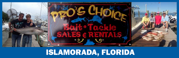 PRO'S CHOICE BAIT, TACKLE & RENTAL