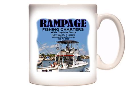 Rampage Fishing Charters Coffee Mug