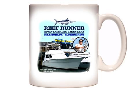 Reef Runner Charters Coffee Mug
