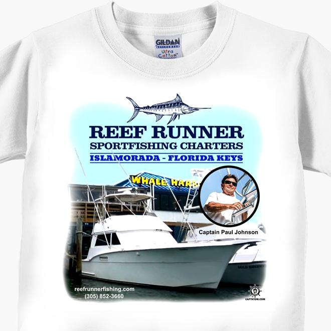 Reef Runner Charters T-Shirt
