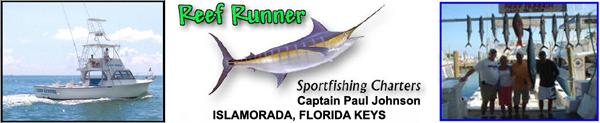 Reef Runner Sportfishing Charters