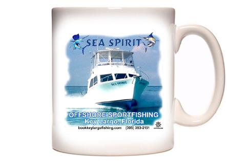 Sea Spirit Offshore Sportfishing Coffee Mug