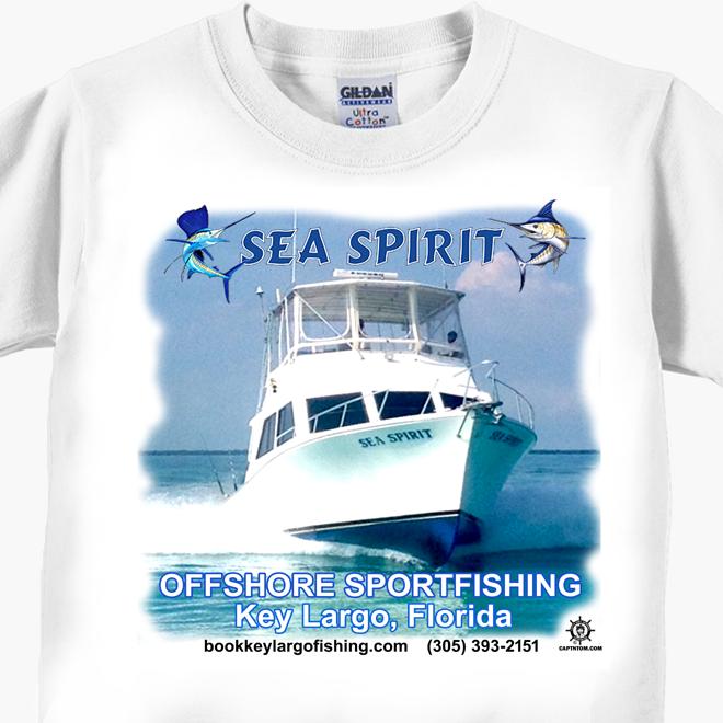 Sea Spirit Offshore Sportfishing T-Shirt