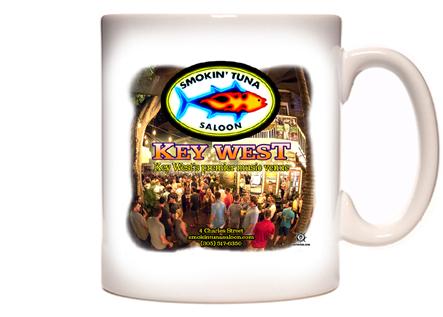 Smokin' Tuna Saloon Coffee Mug
