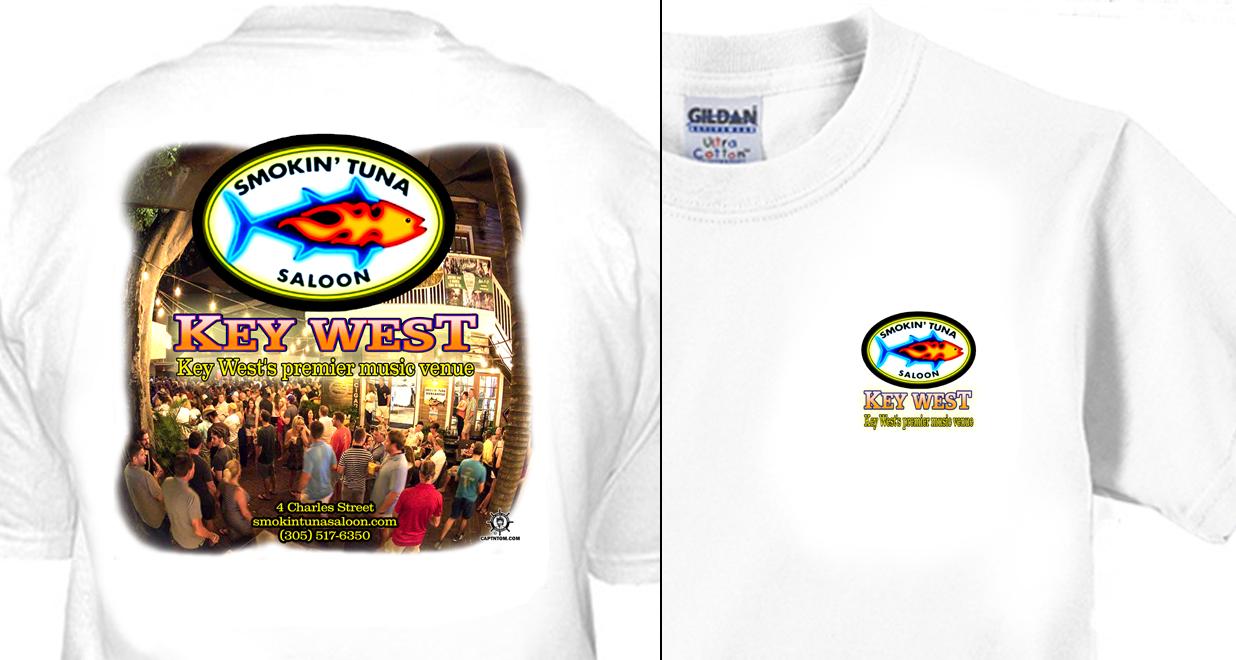 Smokin' Tuna Saloon T-Shirt