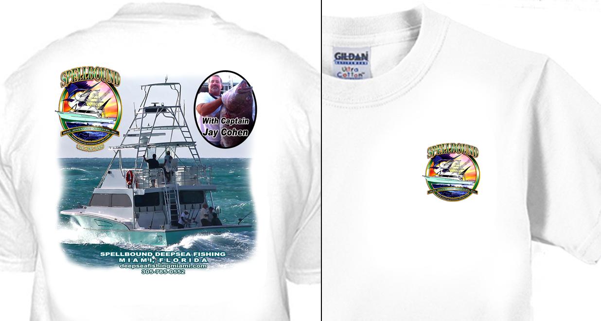 Spellbound Deepsea Fishing T-Shirt