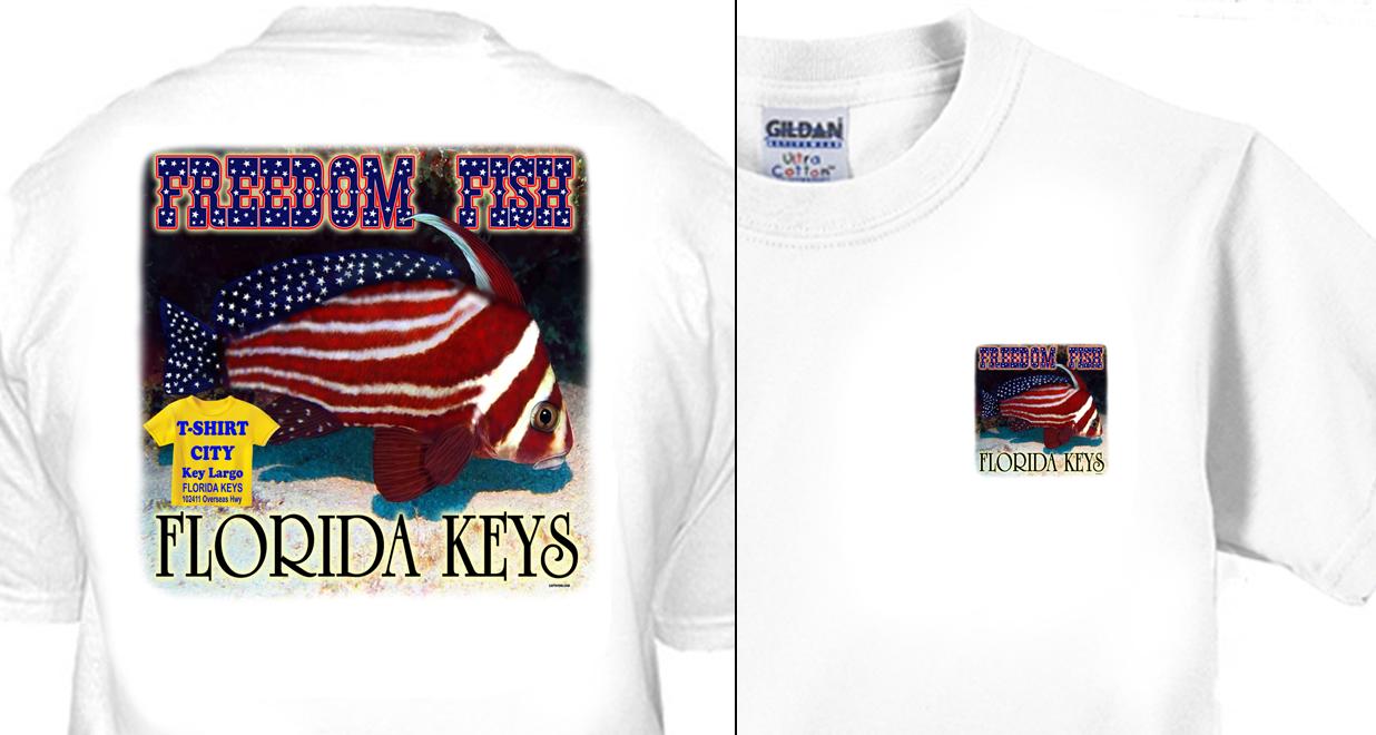 T-Shirt City - Freedom Fish