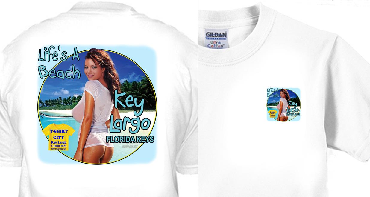 T-Shirt City - Life's A Beach