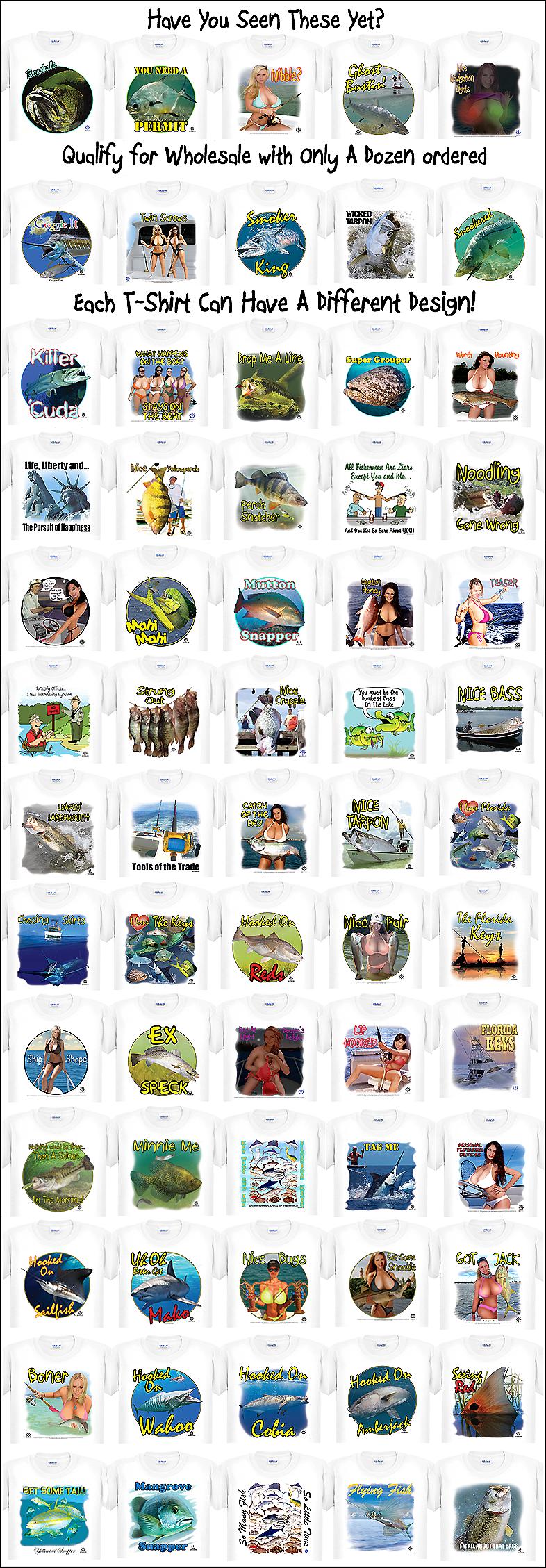 Capt'n Tom's Artworks T-Shirt Thumbnails
