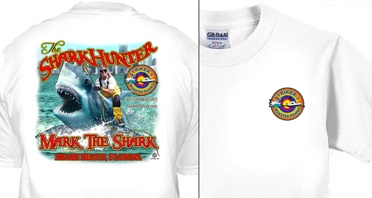 The Shark Hunter - Mark the Shark - Striker-1 Monster Fishing Charters