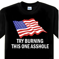 Try Burning This One T-Shirt
