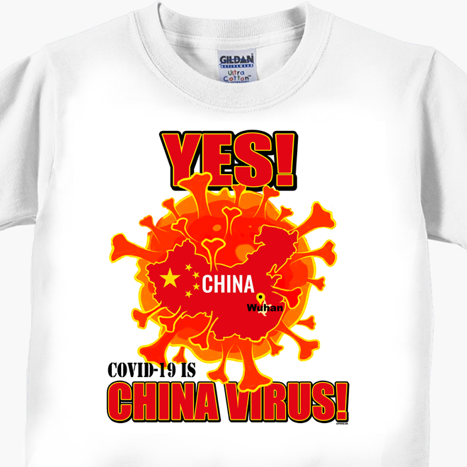 YES - China Virus T-Shirt